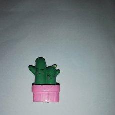 Figuras de Goma y PVC: FIGURA CACTUS ACCESORIO MUÑECA TAMAÑO PEQUEÑO IDEAL PARA PINYPON, POLLY POCKET, BARRIGUITAS. Lote 159842721