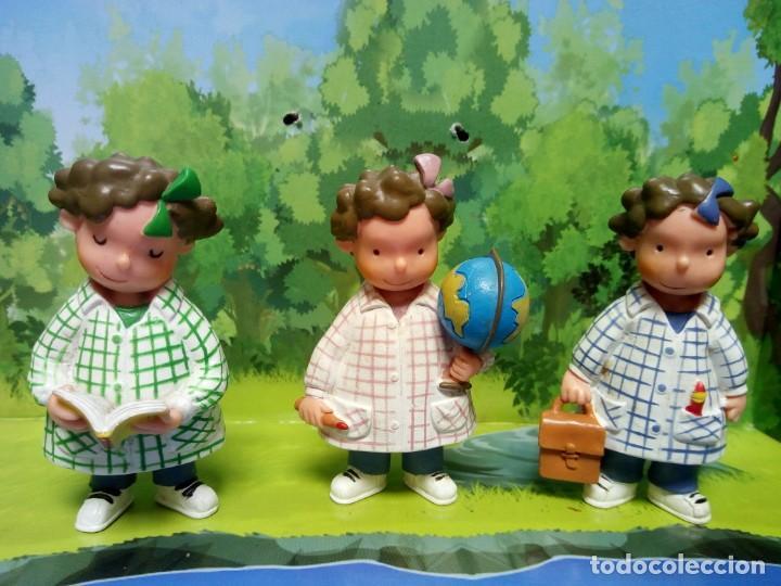 LOTE TRES BESSONES MELLIZAS MARCA YOLANDA (Juguetes - Figuras de Goma y Pvc - Otras)