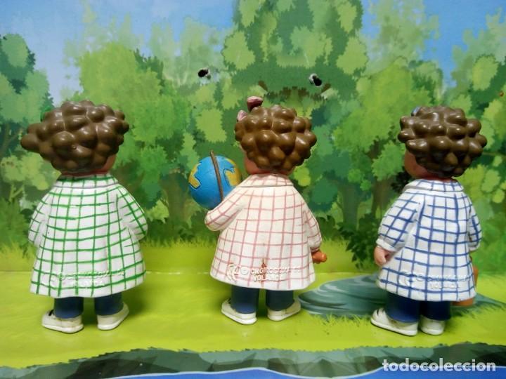 Figuras de Goma y PVC: LOTE TRES BESSONES MELLIZAS MARCA YOLANDA - Foto 2 - 159940882