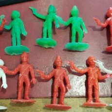 Figuras de Goma y PVC: FIGURAS COMANSI THUNDERBIRDS. Lote 160100725