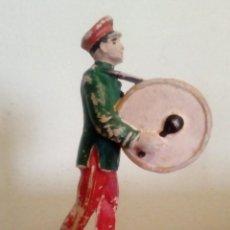 Figuras de Goma y PVC: MUSICO CON BOMBO DE CIRCO JECSAN AÑOS 60 - . Lote 160142850
