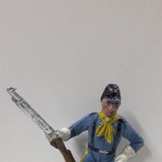 Figuras de Goma y PVC: SOLDADO FEDERAL YANKEE PARA CABALLO . REALIZADO POR COMANSI . PRIMERA EPOCA. Lote 160291402
