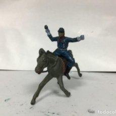 Figuras de Goma y PVC: FIGURA YANQUI PECH HERMANOS GOMA AÑOS 50 YANKEE FEDERAL SEPTIMO CABALLERIA HERMANOS PECH. Lote 160313066