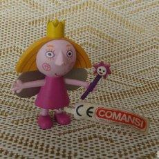 Figuras de Goma y PVC: FIGURA PVC PRINCESA BEN Y HOLLY COMANSI. Lote 160315745