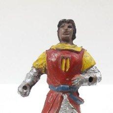 Figuras de Goma y PVC: EL CAPITAN TRUENO . REALIZADO POR JIN . AÑOS 50 EN GOMA. Lote 160327898