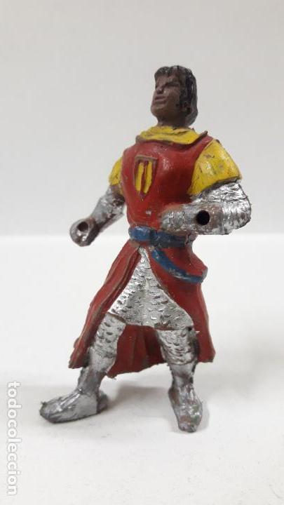 Figuras de Goma y PVC: EL CAPITAN TRUENO . REALIZADO POR JIN . AÑOS 50 EN GOMA - Foto 3 - 160327898