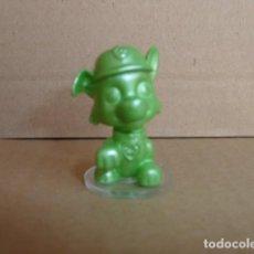 Figuras de Goma y PVC: FIGURA VERDE PATRULLA CANINA. SPIN MASTER. Lote 160355998