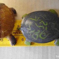 Figuras de Goma y PVC: LOTE Nº 14 TORTUGAS DE GOMA GRANDES. Lote 160374462