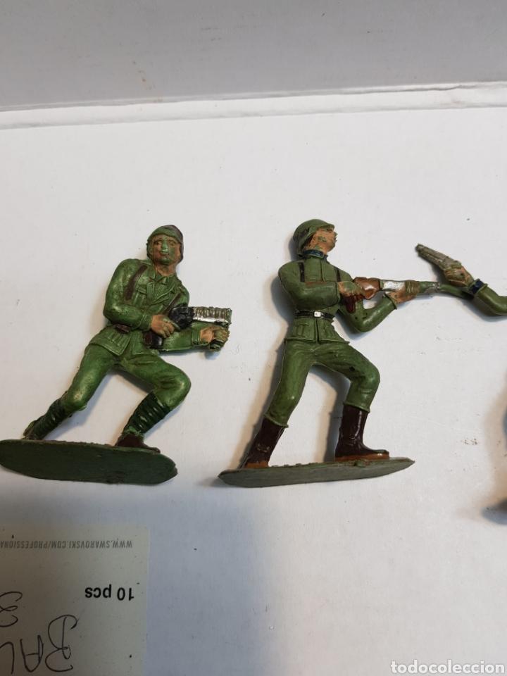 Figuras de Goma y PVC: Figuras Comansi serie soldados del mundo lote 7 - Foto 2 - 160434712