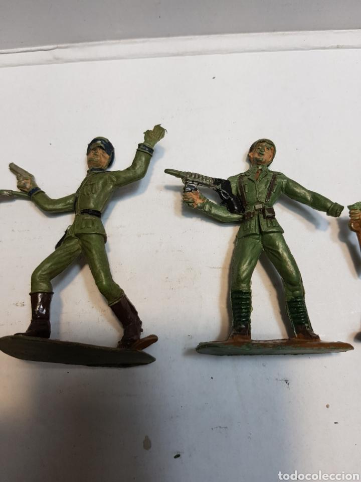 Figuras de Goma y PVC: Figuras Comansi serie soldados del mundo lote 7 - Foto 3 - 160434712