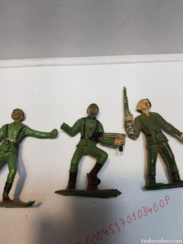 Figuras de Goma y PVC: Figuras Comansi serie soldados del mundo lote 7 - Foto 4 - 160434712