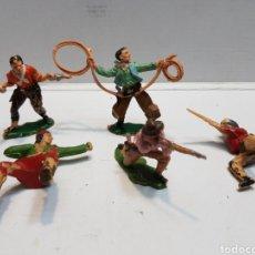 Figuras de Goma y PVC: FIGURAS REAMSA LOTE 5 SERIE OESTE. Lote 160436010