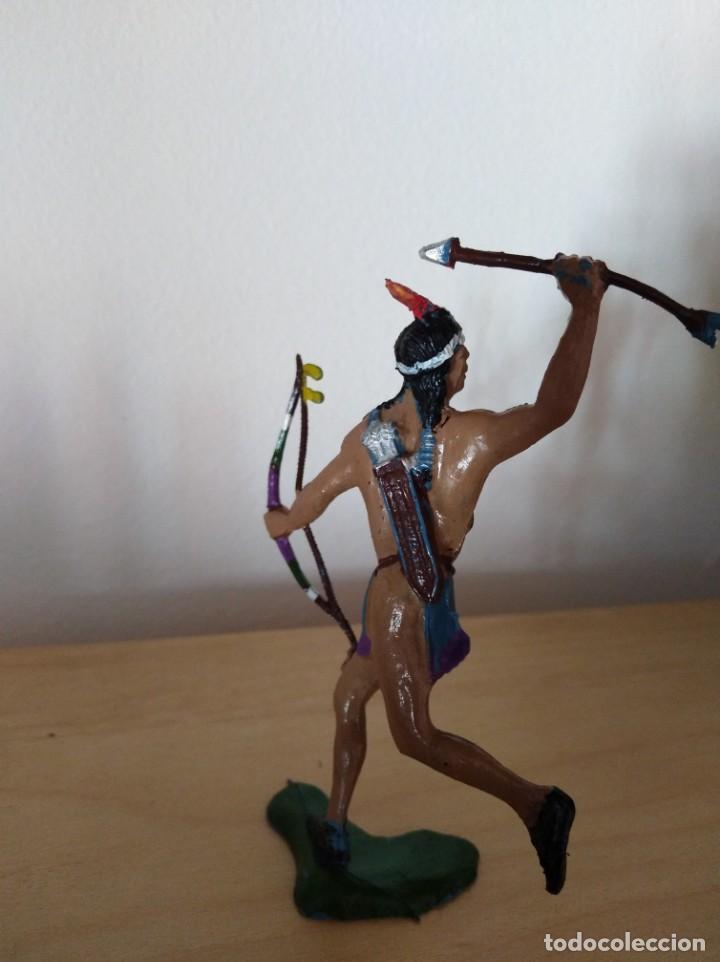 Figuras de Goma y PVC: Figura pvc oeste indios y vaqueros tamaño grande lafredo fart west - Foto 2 - 160446638