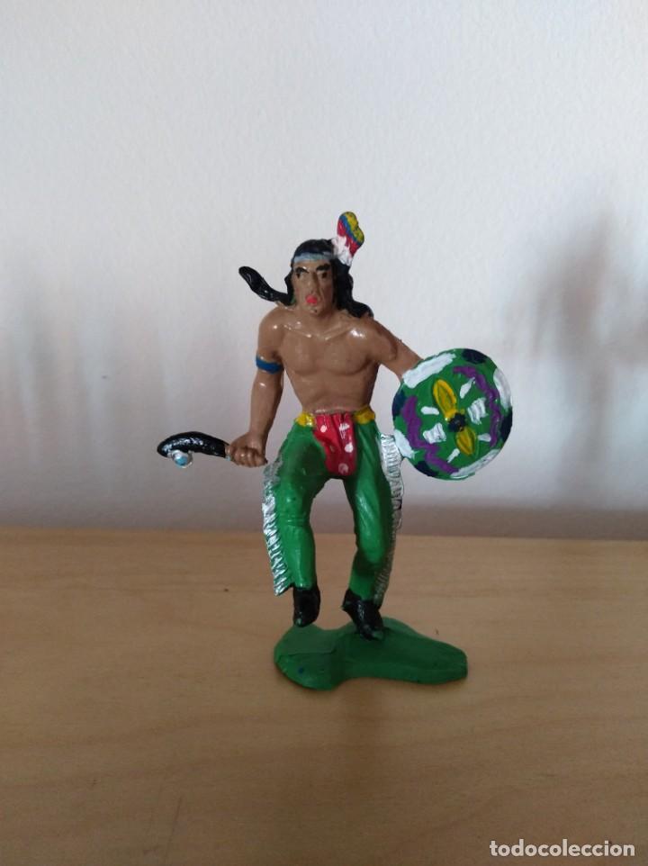 FIGURA PVC OESTE INDIOS Y VAQUEROS TAMAÑO GRANDE LAFREDO FART WEST (Juguetes - Figuras de Goma y Pvc - Lafredo)