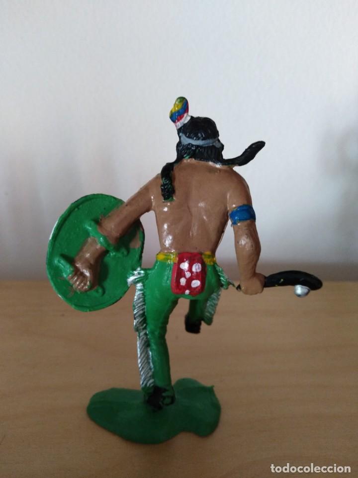 Figuras de Goma y PVC: Figura pvc oeste indios y vaqueros tamaño grande lafredo fart west - Foto 2 - 160446978