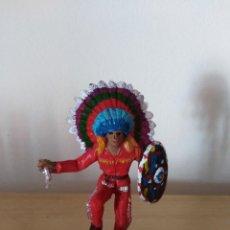 Figuras de Borracha e PVC: FIGURA PVC OESTE INDIOS Y VAQUEROS TAMAÑO GRANDE LAFREDO FART WEST . Lote 160447078