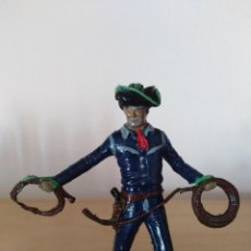 Figuras de Goma y PVC: FIGURA PVC OESTE INDIOS Y VAQUEROS TAMAÑO GRANDE LAFREDO FART WEST. Lote 160457622