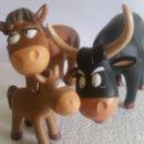 Figuras de Goma y PVC: LOTE DE HABITANTES EN LA GRANJA. EN PVC ¡¡ EN BUEN ESTADO ¡¡ . Lote 160487418
