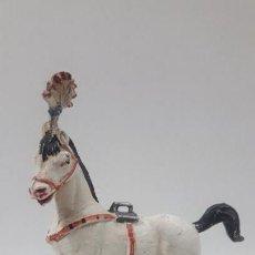 Figuras de Goma y PVC: CABALLO PARA LA MUJER EQUILIBRISTA . REALIZADO POR JECSAN . SERIE CIRCO . AÑOS 50 EN GOMA. Lote 160505934