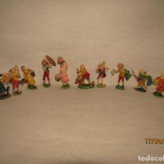 Figuras de Goma y PVC: ANTIGUO LOTE DE 10 FIGURAS MEDIEVALES EN GOMA PINTADA A MANO - AÑO 1950-60S.. Lote 160535818