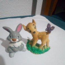 Figuras de Goma y PVC: FIGURA TAMBOR Y BAMBY PVC BULLY. Lote 160560030