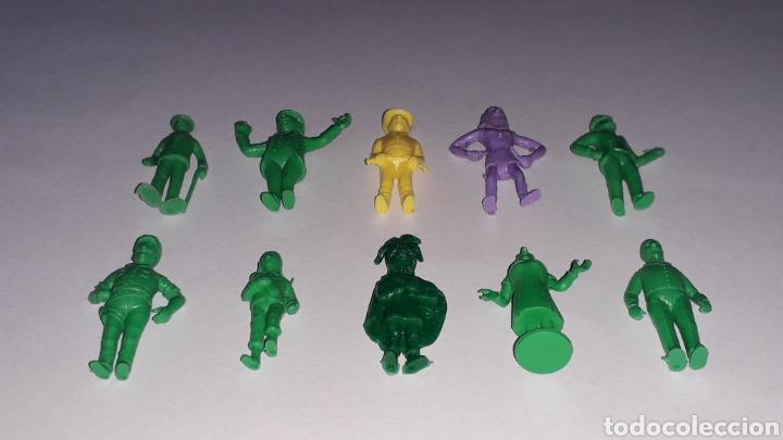 Figuras de Goma y PVC: Lote 10 figuras serie TINTIN Hergé, plástico, Dunkin Tito Stenval Lombard, Originales. - Foto 2 - 160595989