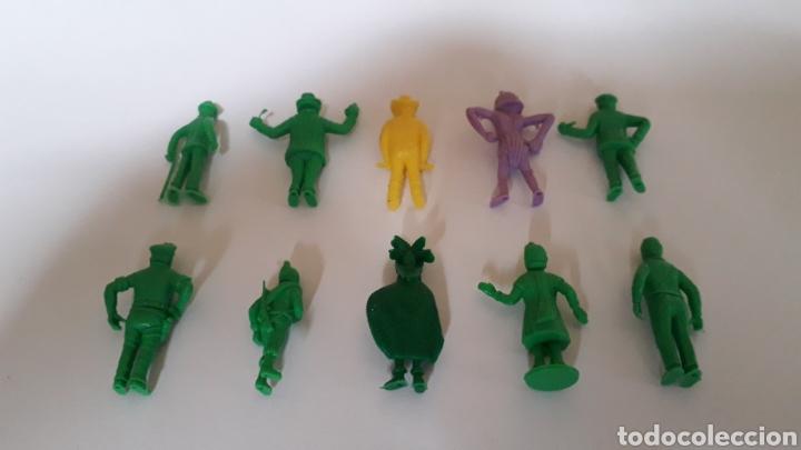 Figuras de Goma y PVC: Lote 10 figuras serie TINTIN Hergé, plástico, Dunkin Tito Stenval Lombard, Originales. - Foto 4 - 160595989