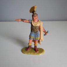 Figuras de Goma y PVC: CÓNSUL, LEGIONES ROMANAS DE ELASTOLIN, SERIE 4 CMS., COMPATIBLE CON HISTOREX, EXIN CASTILLOS.. Lote 160612645
