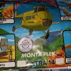 Figuras de Goma y PVC: MONTAPLEX EXTRA Nº 14 MONTAMAN HELICÓPTERO - SOBRE CERRADO. Lote 160661358