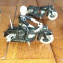 Figuras de Goma y PVC: 4 MOTOS 1 COMPLETA. Lote 160670002