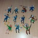 Figuras de Goma y PVC: LOTE 11 FIGURAS COMANSI AÑO 70. Lote 160670246