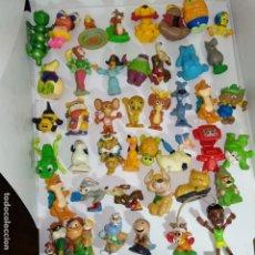 Figuras Kinder: LOTE DE 43 FIGURAS KINDER FERRERO HUEVOS SORPRESA AÑOS 90 ETC. Lote 160684298