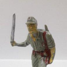 Figuras de Goma y PVC: SOLDADO JAPONES . REALIZADO POR PECH . AÑOS 60. Lote 160698170