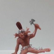 Figuras de Goma y PVC: GUERRERO INDIO . AÑOS 60 / 70. Lote 160703410