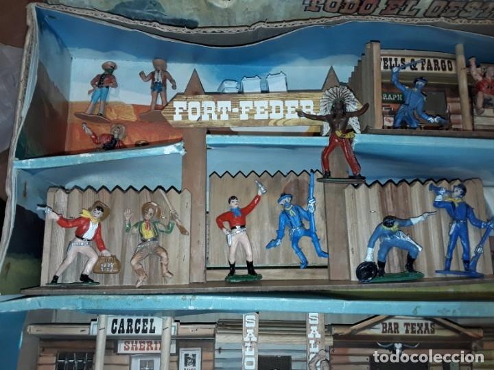 Figuras de Goma y PVC: Comansi fuerte, todo el oeste americano, ref 222, caja grande. - Foto 3 - 160807646