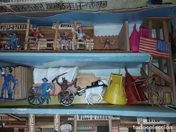 Figuras de Goma y PVC: Comansi fuerte, todo el oeste americano, ref 222, caja grande. - Foto 4 - 160807646