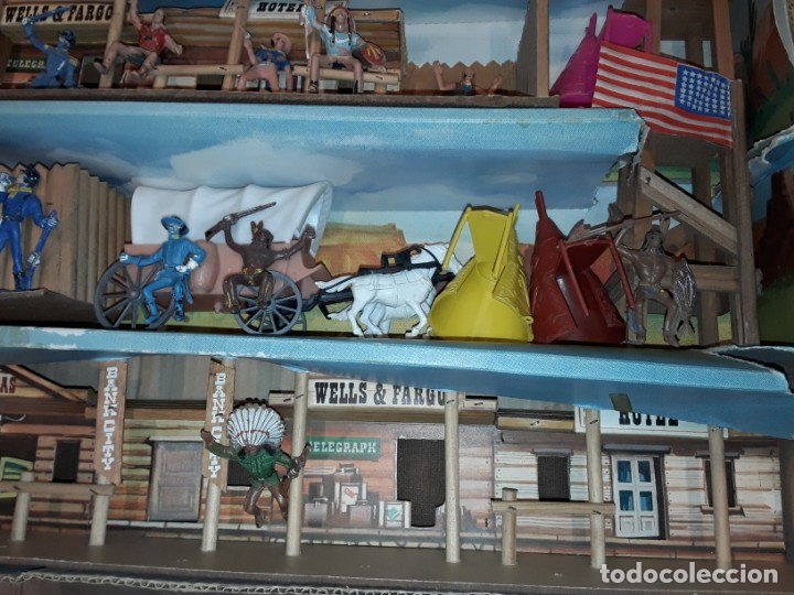 Figuras de Goma y PVC: Comansi fuerte, todo el oeste americano, ref 222, caja grande. - Foto 5 - 160807646