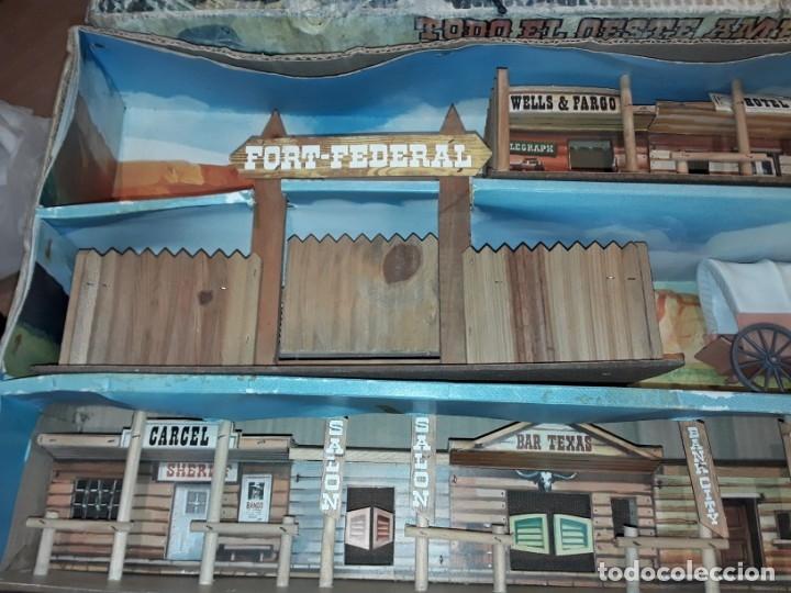 Figuras de Goma y PVC: Comansi fuerte, todo el oeste americano, ref 222, caja grande. - Foto 7 - 160807646