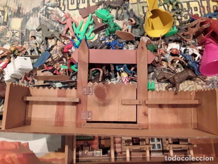 Figuras de Goma y PVC: Comansi fuerte, todo el oeste americano, ref 222, caja grande. - Foto 9 - 160807646