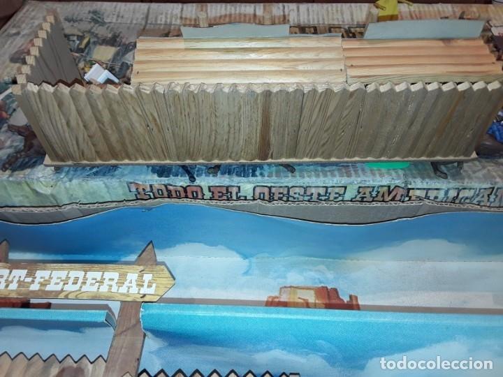 Figuras de Goma y PVC: Comansi fuerte, todo el oeste americano, ref 222, caja grande. - Foto 11 - 160807646
