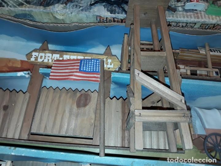 Figuras de Goma y PVC: Comansi fuerte, todo el oeste americano, ref 222, caja grande. - Foto 13 - 160807646