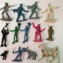 Figuras de Goma y PVC: 14 FIGURAS DE PLÁSTICO . Lote 160827706