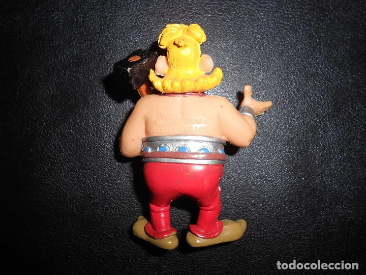 Figuras de Goma y PVC: ANTIGUA FIGURA GOMA PVC COMICS SPAIN 1991 ESAUTOMATIX - ASTERIX Y OBELIX - - Foto 2 - 160934234