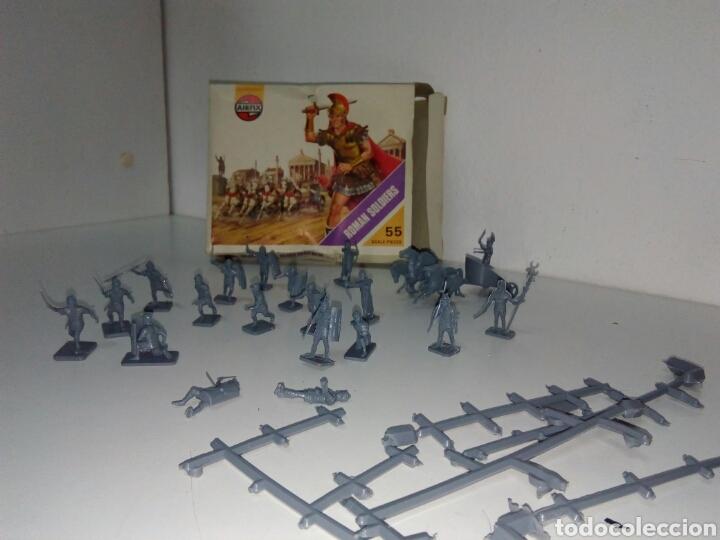 Figuras de Goma y PVC: Juego airfix soldados egipcios - Foto 2 - 160975873