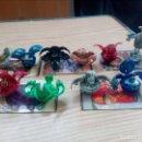 Figuras de Goma y PVC: LOTE 10 BOLAS BAKUGAN + 5 CARTAS - LOTE 1. Lote 160991062