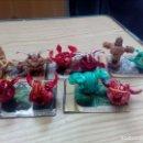 Figuras de Goma y PVC: LOTE 10 BOLAS BAKUGAN + 5 CARTAS - LOTE 2. Lote 160991130