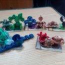 Figuras de Goma y PVC: LOTE 10 BOLAS BAKUGAN + 5 CARTAS - LOTE 3. Lote 160991162