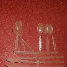 Figuras de Goma y PVC: CUBIERTOS MONTAPLEX. Lote 161163108
