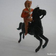 Figuras de Goma y PVC: BUFALO BILL COMANSI AÑOS 60. Lote 161237530