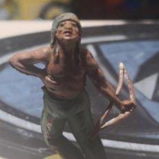 Figuras de Goma y PVC: FIGURA DE GOMA DE UN INDIO DESMONTABLE DE LA MARCA GAMA - AÑOS 50. Lote 161238310